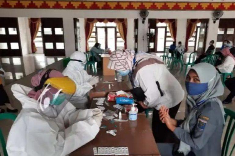 99 ASN BPKAD  Metro Jalani Rapit-test  Massal