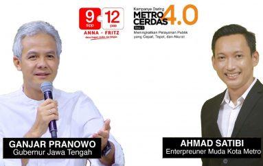Ganjar Pranowo dan Satibi akan Hadir dalam Kampanye Daring Anna-Fritz