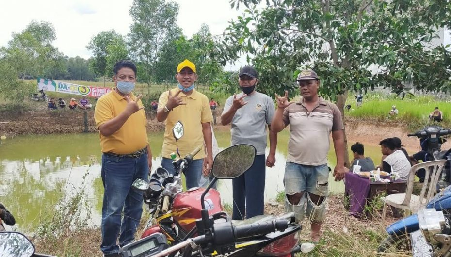 DA-DI Helat Mancing Bersama Masyarakat Batangharjo