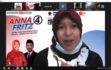 Anna-Fritz Prioritaskan Literasi Keagamaan di Metro