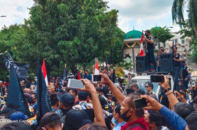 Merasa Tak Ada Solusi, GMBI Dampingi Warga Lapor Polisi
