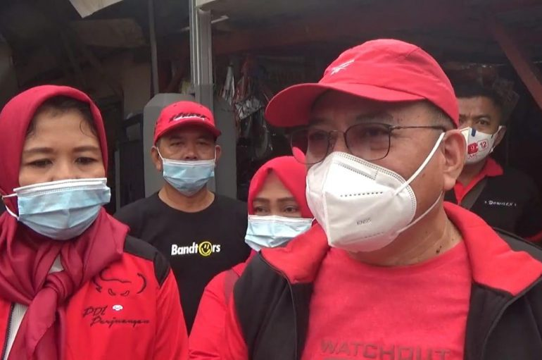 DPD PDI-P Lampung Turun Gunung Kampanyekan Anna-Fritz
