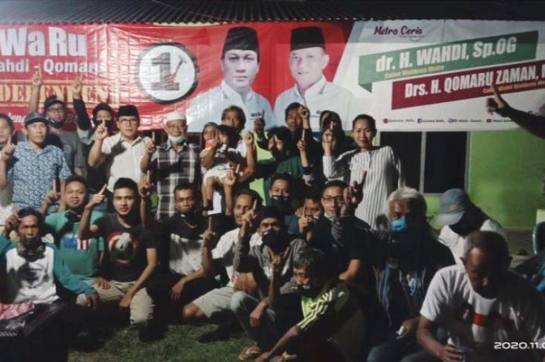 Dokter Wahdi datangi Pos Pemenangan di Hadimulyo Barat