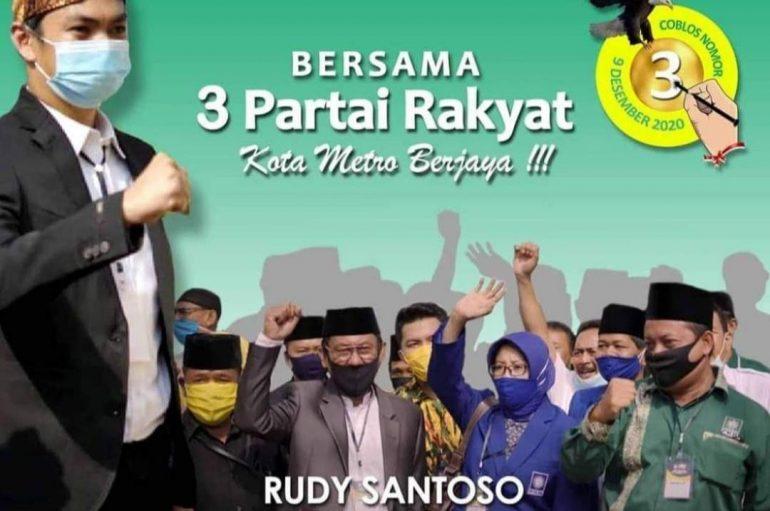Debat Kandidat Kedua Pilkada Metro, ini Penjelasan Rudy Santoso