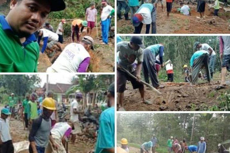 Kades Taman Negeri, Gotong Royong Manyatukan Masyarakat