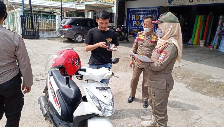 Tak Pakai Masker, 95 Warga Metro Terjaring Operasi Yustisi