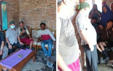 Bupati Terpilih Dawam Raharjo,  Beri Bantuan Kursi Roda Warga Penyandang Disabilitas