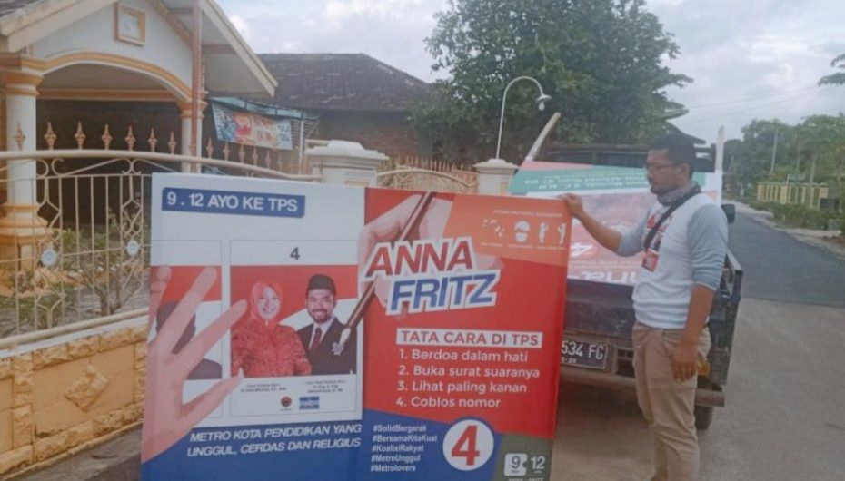 Seluruh Relawan Anna-Fritz Solid Tertibkan APK