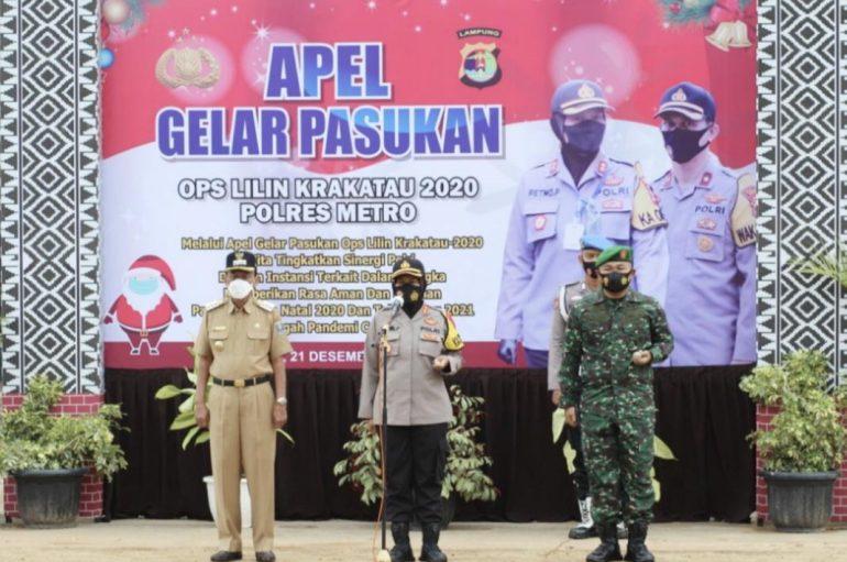 Apel, AKBP Retno Pantau Persiapan Pengamanan Nataru