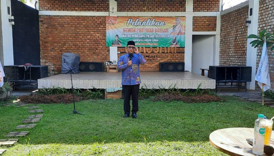 Ardito Hadiri Pelantikan IKAPPI Lamteng