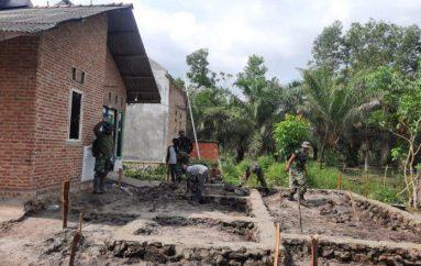 Kodim 0429 Lampung Timur, Melalui TMMD Berikan Bantuan Bedah Rumah Milik Sukamto