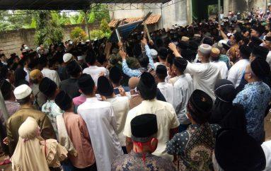 Satgas Covid-19 Kota Metro Tracing Keluarga Almarhum KH Ali Qomarudin
