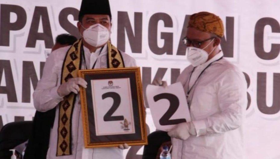 Senin DPRD Lamteng Tetapkan Bupati dan Wabup Terpilih