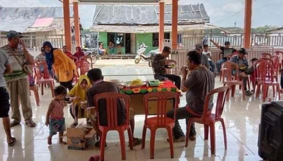 Desa Sidang Muara Jaya  Resmikan Kantor Desa, Ini Harapan Kades