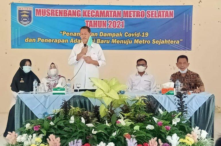 Kecamatan Metro Selatan Gelar Musrenbang