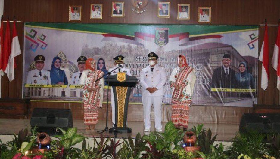Wagub Lampung, Hadir di Acara Serah Terima Jabatan Plh dan Bupati Lamtim