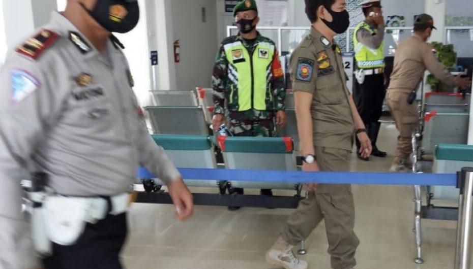 Sat Pol PP, Polri dan TNI Kota Metro Gelar Operasi Yustisi di Tempat Umum