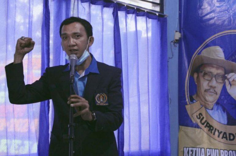 Aklamasi, Rino Panduwinata Pimpin PWI Kota Metro