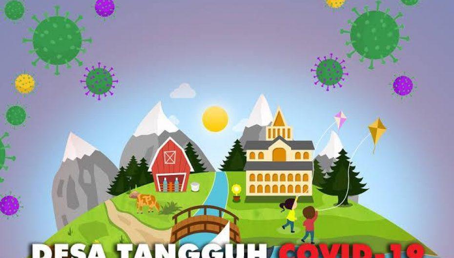 Kapolres Mesuji, Tunjuk Desa Bangun Raya Sebagai Desa Tangguh Covid-19