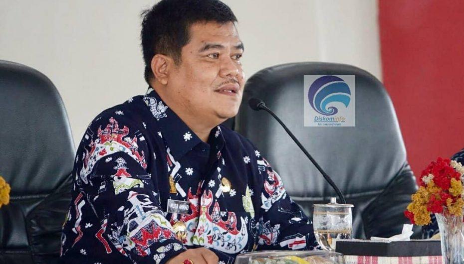 Bupati Lamteng Musa Ahmad, Hadiri Rakor Perdana di Sesat Agung Nuwo Balak