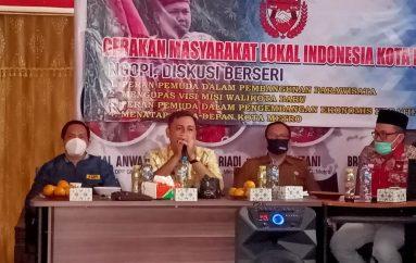 Ketua DPRD Metro, Apresiasi Kegiatan Ngopi Diskusi Berseri