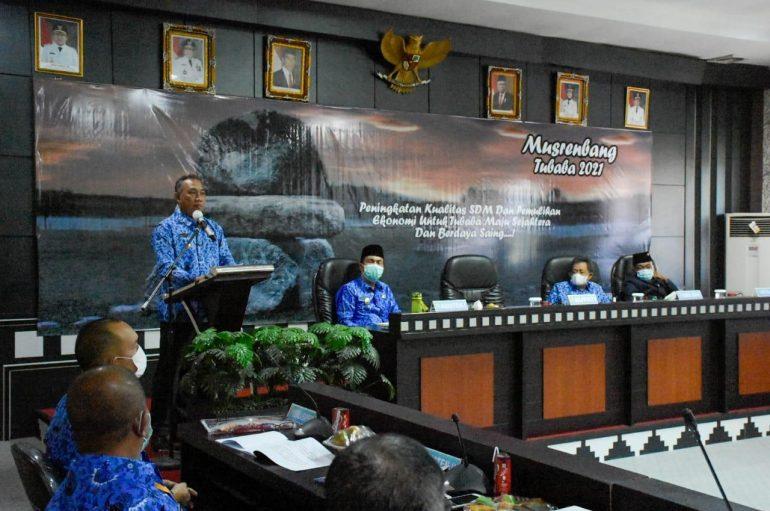 Umar Ahmad: Berharap Gubernur Lampung Melihat Pembangunan di TUBABA