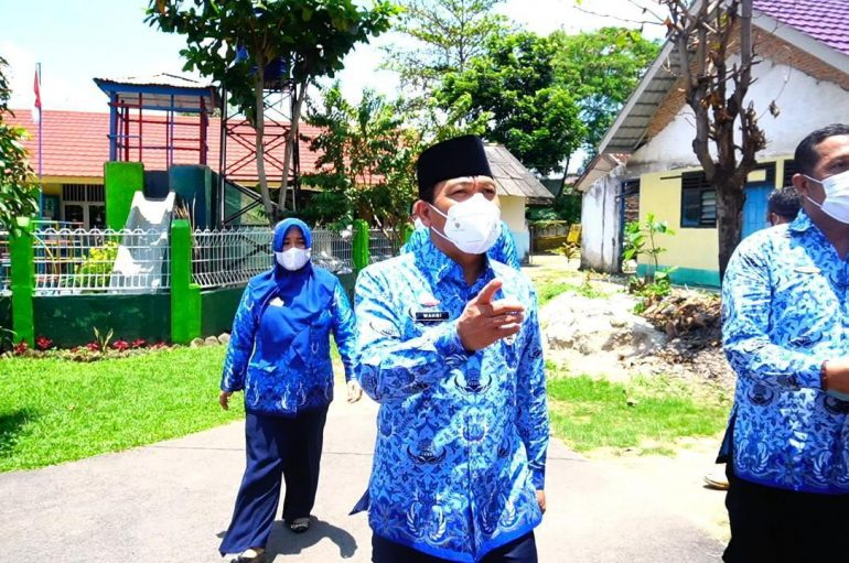 Dorong Peningkatan Mutu Pusat Layanan Kesehatan, Walikota Sidak ke Sejumlah Puskesmas
