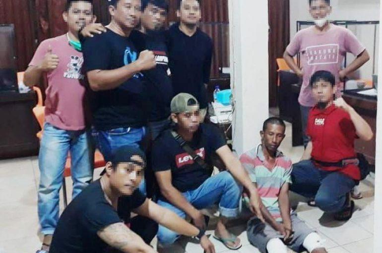 Melakukan Perlawanan, Team Tekab Anti Bandit Berihadia Timah Panas Pelaku Curanmor