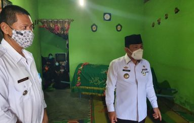 Wali Kota Metro Melayat ke Keluarga Korban Tenggelam