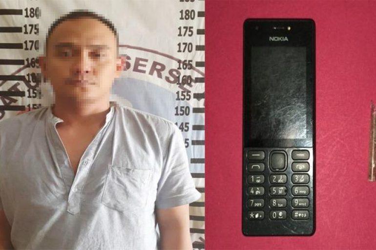 Oknum Honorer Sat Pol-PP Ditangkap Satresnarkoba Polres Tulang Bawang