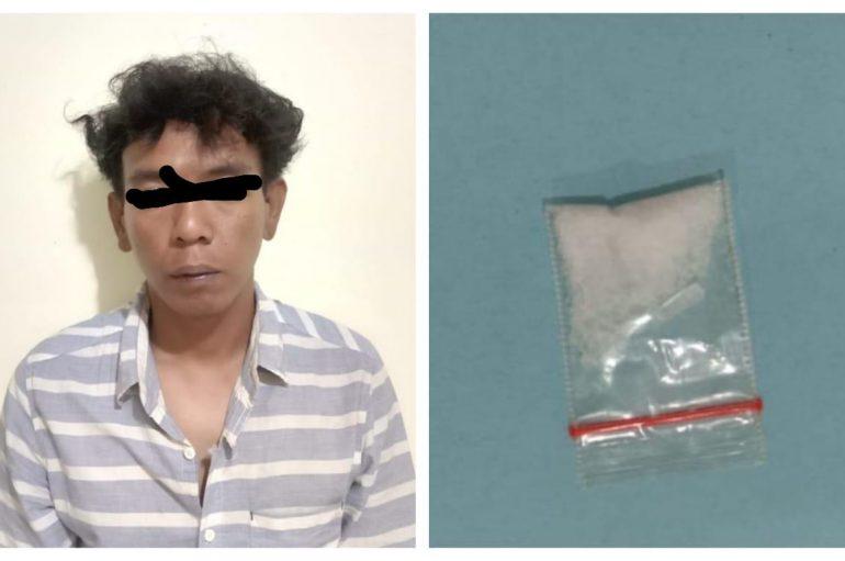 Gegara Narkoba, Polisi Tangkap Kepala Dusun Asal Lamtim