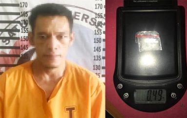 Bawa Narkotika, Pria Asal Yukum Jaya Ditangkap Polres Tulang Bawang