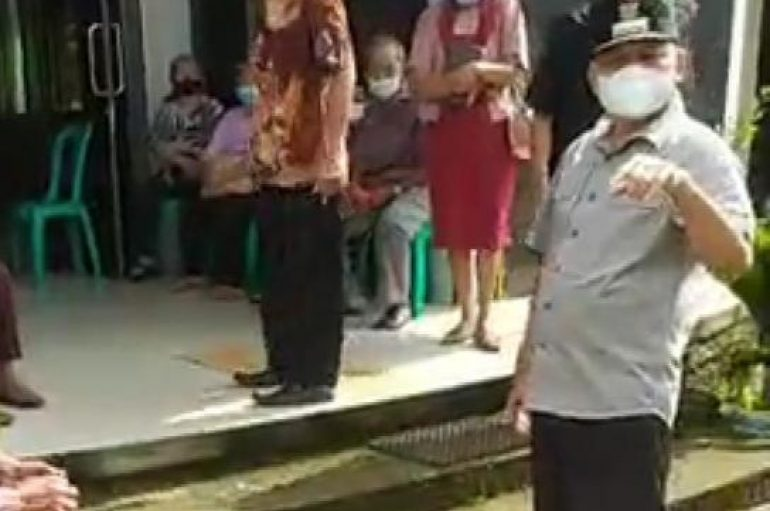 Bupati Lamtim Sapa Masyarakat di GKSBS Sribawono, Ini Pesanya