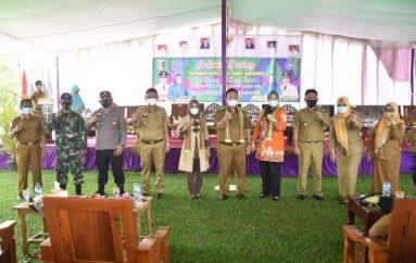 Wakil Bupati Lamtim Azwar Hadi Menghadiri Lomba Desa dan Bulan Bhakti Tingkat Kabupaten di Desa Mulyosari