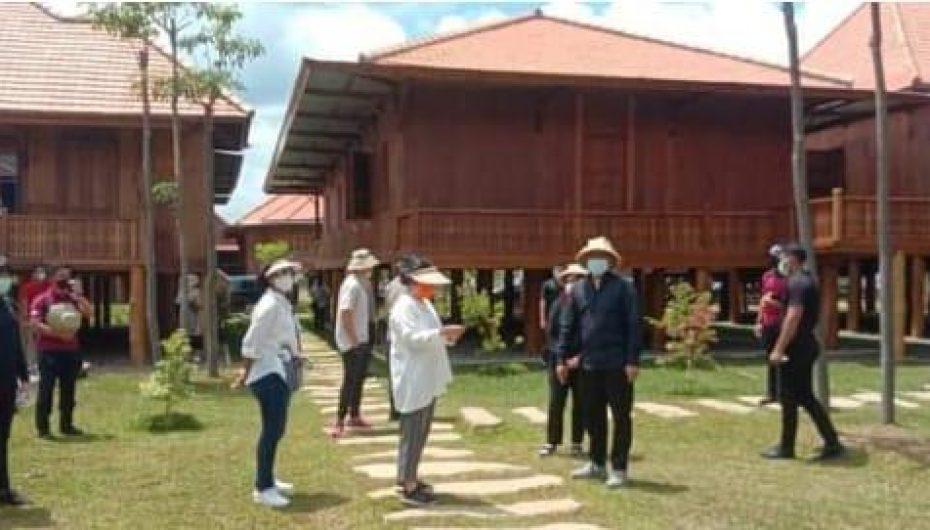 Dikunjungi Ketua DPR RI, Bupati Sampaikan Konsep Pengembangan Kabupaten Tubaba