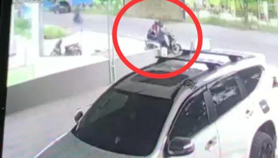 Viral.!! Vidio Rekam Aksi Pencurian Kendaraan Bermotor di Kota Metro