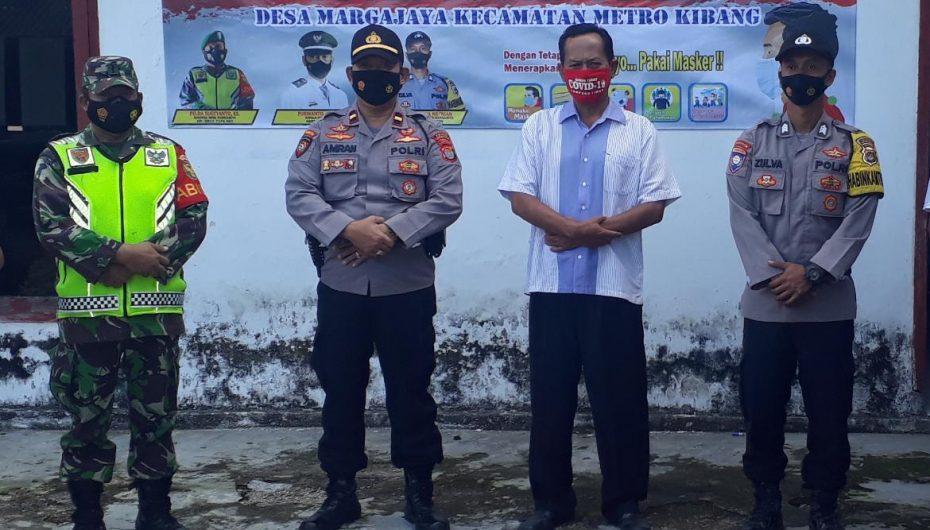 Kodim 0429 Lamtim Mulai Aktifkan Posko PPKM Mikro di Setiap Desa
