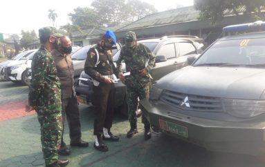 Denpom Periksa Kendaran Pribadi dan Randis Personel TNI