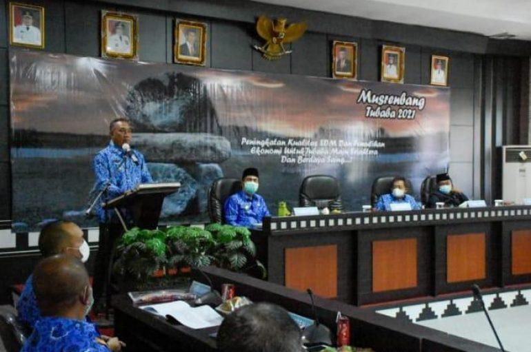 Musrenbang Tubaba Perioritaskan Kualitas SDM dan Pemulihan Ekonomi