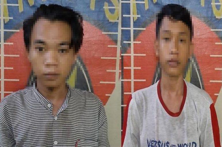 Curi Uang Kotak Amal, Dua Pemuda Ditangkap Tekab 308 Polres Tulang Bawang