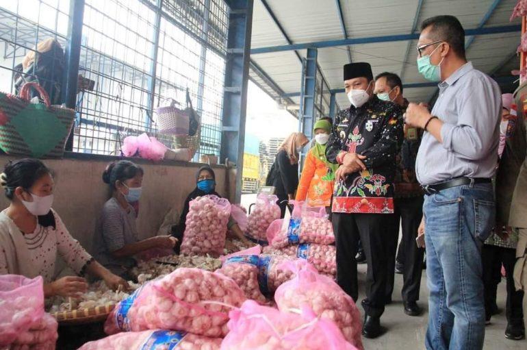 Pastikan Stok Jelang Lebaran, Pemkot Metro Monitoring Gudang Sembako