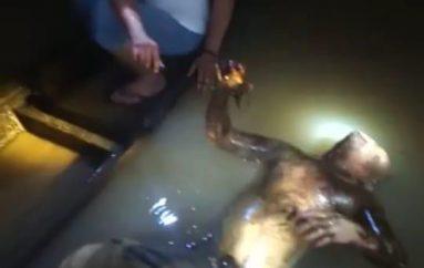 Warga Buyut Utara Digegerkan Penemuan Mayat Anonim di Sungai Way Seputih