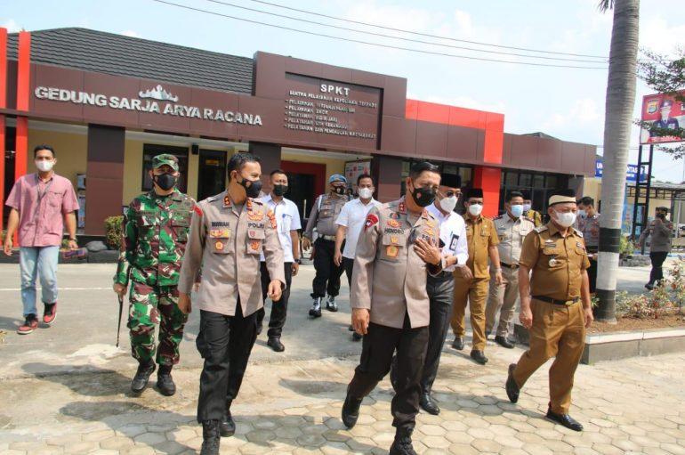 Kapolda Lampung Resmikan Gedung Pelayanan Publik Satu Atap Polres Lamtim