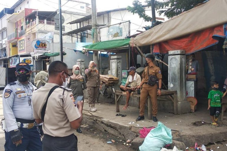 Polisi Imbau PKL Terminal Kota Kosongkan Lapak