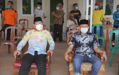 Wali Kota Metro Letakkan Batu Pertama Pembangunan Masjid Nurul Iman
