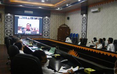 KPK Ingatkan Pemkot Metro Dalam Rakor MCP