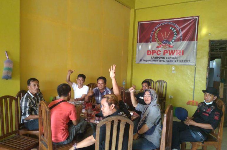 DPC PWRI dan IWO Lamteng Jalin Komunikasi