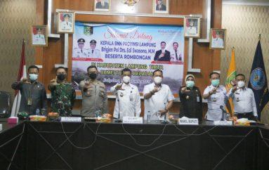 BNN Provinsi Lampung Kunker Ke Lamtim