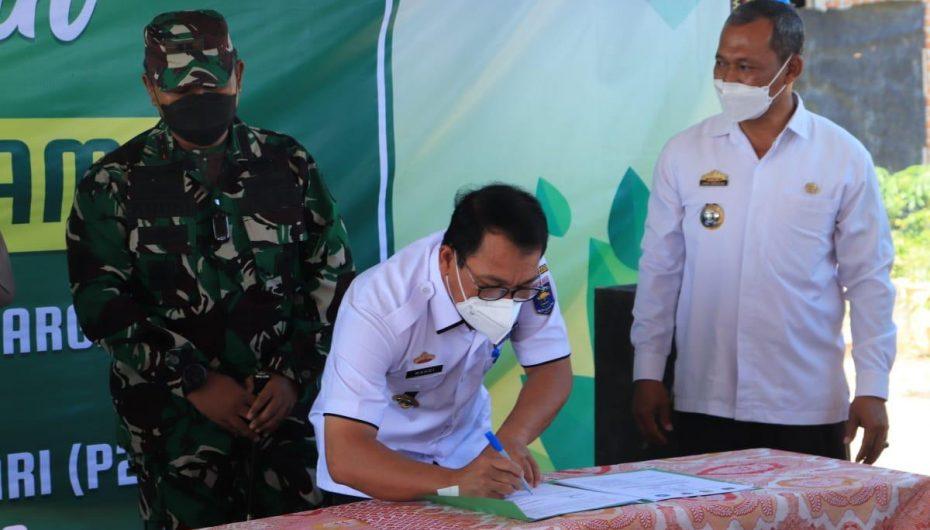 Tingkatkan Ketahanan Gizi, Wali Kota Metro Jalin Kesepakatan dengan TNI Polri