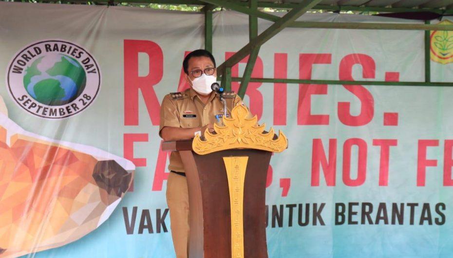 Wali Kota Metro Buka Peringatan Hari Rabies Dunia